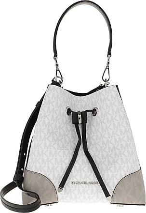 Michael Kors Mercer Gallery Shoulder Bag White/Multi