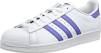 pretty nice edd81 2de8f adidas Superstar, Scarpe da Ginnastica Uomo, Bianco Real Lilac Ftwr White,  49