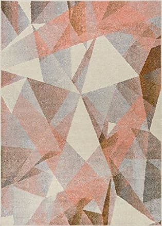 Well Woven VE-80-7 Vettore Naomi Modern Abstract Geometric Tranquil Pink Area Rug 710 x 106