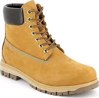 GrÜnland Mens Soft Stringed Boot Collar Wraps The Upper Ankle Yellow Size: 8.5 UK