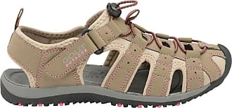 Gola Ladies Gola SHINGLE Sports Walking/Trekking Sandals UK sizes 3,4,5,6,7,8, (5 UK, Taupe/ Hot Pink)