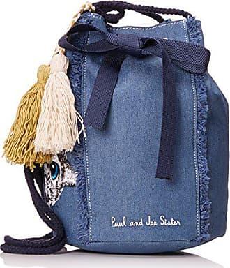 8066c0a6be Paul & Joe 7jean, Sacs portés dos femme, Bleu (Jeans), 7x15x20