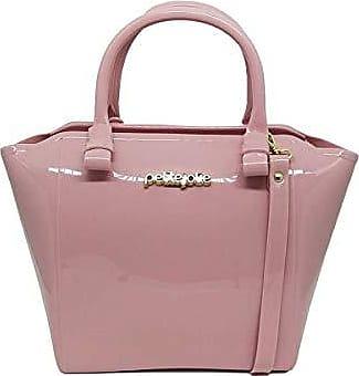 Petite Jolie PJ3939 Bolsa Shopper Shape Bag Express Petite Jolie antiga PJ1770 (Rosa)