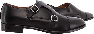 Doucal's Mens Elegant Shoes Radica Soft Nero Leather Black