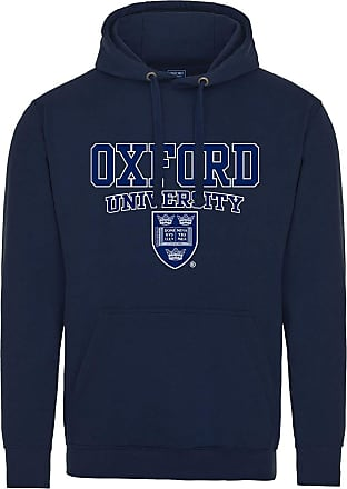 Oxford University Crest Hoodie - Navy - S