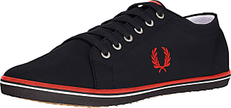 Fred Perry Unisexs Kingston Twill Sneaker, Navy, 5.5 UK