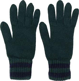 Pringle Of Scotland Par de luvas em tricô - Verde