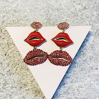 Efva Attling Tripple Lips Earrings