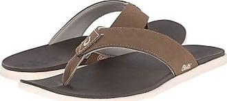 Olukai Holona (Mustang/Dark Java) Mens Sandals