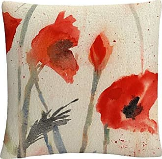 Trademark Fine Art Red Poppy Light Floral Abstract by Sheila Golden