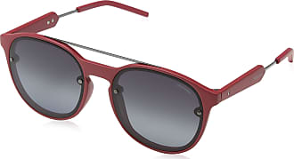 Polaroid Unisexs PLD 6020/S WJ TN6 55 Sunglasses, Red Ruthen/Grey Sf Pz