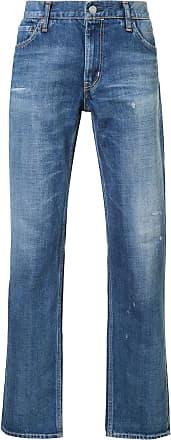 Visvim Calça jeans slim fit - Azul