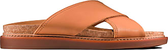 Clarks Womens Sandal Light Tan Leather Clarks Trace Drift Size 10