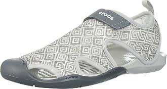 1ed09d35c1f5c Crocs Womens Swiftwater Graphic Mesh SNDL Sport Sandal