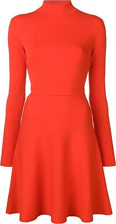 Givenchy Vestido gola alta - Vermelho