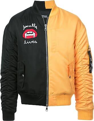 Haculla 2Faced panel bomber jacket - Black