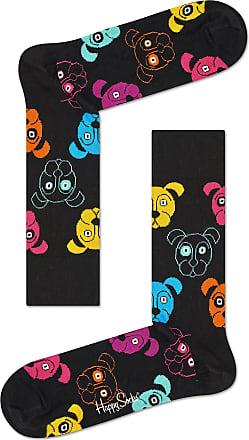 Happy Socks Colourful Fun Print Cotton Socks for Men and Women, Dog (41-46)