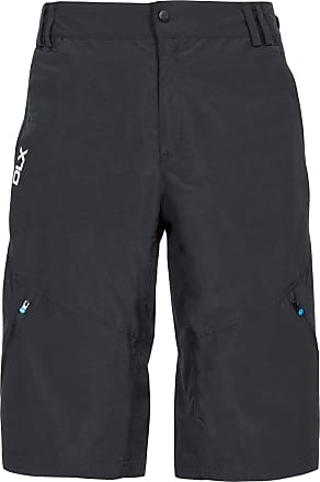 Trespass Bertram Mens DLX Quick Drying Shorts with Uv Protection - Black - Black L