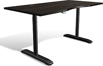 Unique Furniture 100 Collection Electric 65 in. Adjustable Standing Desk Walnut - 76432-WAL