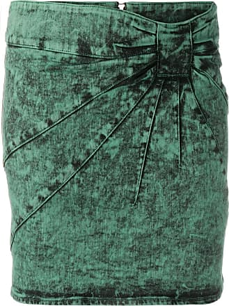 Red Valentino Minissaia jeans - Verde