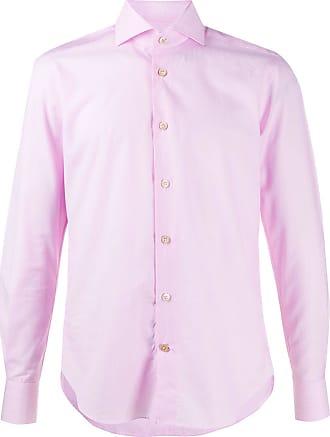 Kiton classic collar shirt - PINK