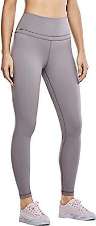 244be4485515bf CRZ YOGA Damen Sports Yoga Leggings Sporthose mit Hoher Taille-Nackte  Empfindung -63cm Lunar