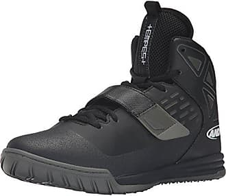 competitive price 489ff 36700 AND1 AND 1 Mens Tempest-M Basketball Shoe, Black Gunmetal White, 9