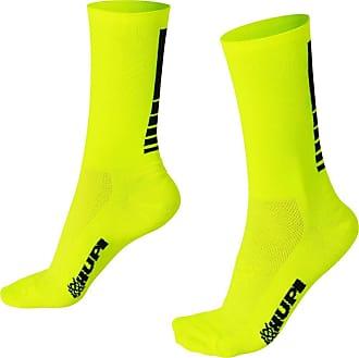Hupi Meia Hupi Lisa Amarelo Neon - Lt para pés menores 34-38, Cor: Amarelo Neon, Tamanho: Lt (34-38)