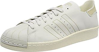 timeless design 5ff1a 1f868 adidas Superstar 80S Decon, Scarpe da Fitness Uomo, Bianco Ftwbla Marron  000,