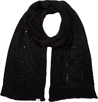 Levi s Lofty Cable Scarf, Echarpe Femme, (Noir Regular Black 59), Unique c739885953b