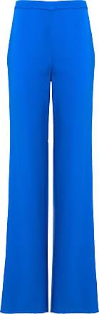 Emilio Pucci Calça Pantalona Azul - Mulher - 48 IT