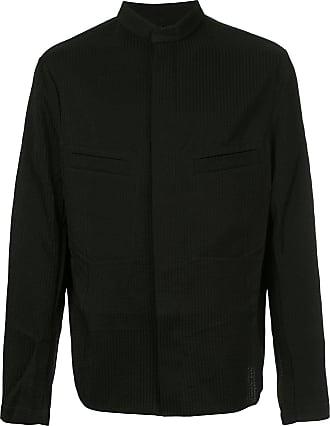 Uma Wang ribbed bomber jacket - Black