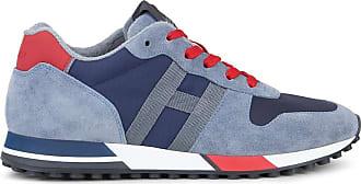 Hogan Sneakers H383, ROSSO,BLU, 7.5 - Scarpe