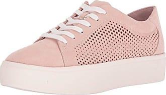 Dr. Scholls Womens Kinney Lace Sneaker, Blush Microfiber, 11 M US