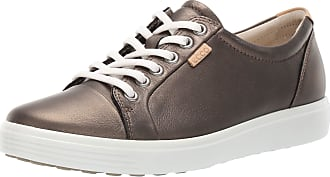 Ecco Womens Soft 7 Ladies Low-Top Sneakers, (Black Stone Metallic 51380), 3.5/4 UK (36 EU)