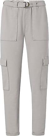 YaYa Cargo Joggerhose mit Gürtel in Dunkelgrau 1209106 - XS. | grey | cotton - Grey/Grey