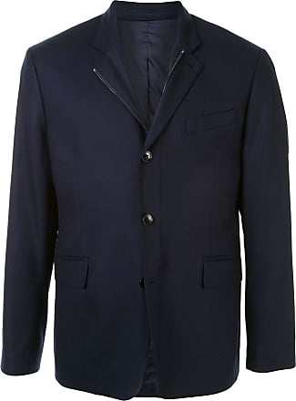 Kent & Curwen single-breasted fitted blazer - Blue