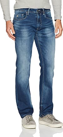 Buffalo David Bitton Mens Evan-x Slim Straight Fit Denim Jean, Indigo, 31W x 30L