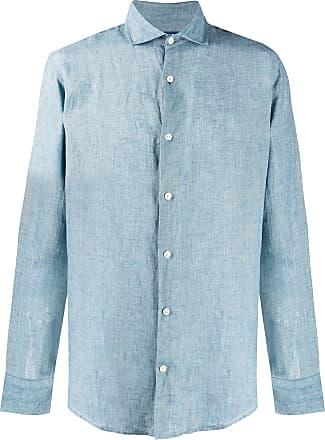Frescobol Carioca Camisa com abotoamento frontal - Azul
