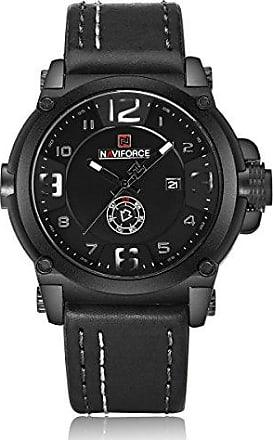 NAVIFORCE Relógio Masculino Naviforce 9099 - Preto Branco