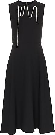 Christopher Kane embellished cut-out midi dress - Preto