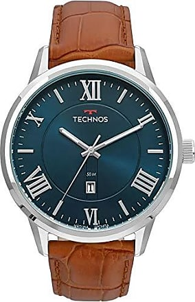 Technos Relógio Technos Masculino Ref: 2115mtx/0a Classic Prateado
