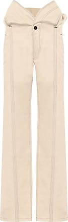 Y / Project High-rise straight fit cotton pants