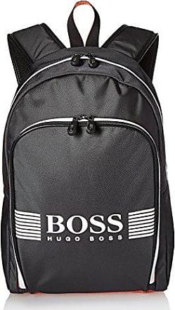 aa9059770d5 HUGO BOSS BOSS Green Mens Pixel Nylon Backpack, dark gray, ONE SIZE