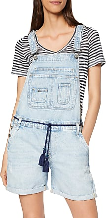 Pepe Jeans London Womens Abby Jumpsuit, Blue (Denim 000), X-Large