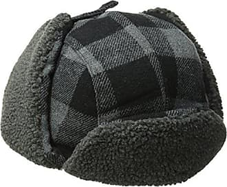 56f250dec3718 Levi s Mens Buffalo Plaid Trapper Hat with Sherpa Lining