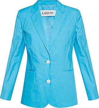 Lanvin Notch Lapel Blazer Womens Blue