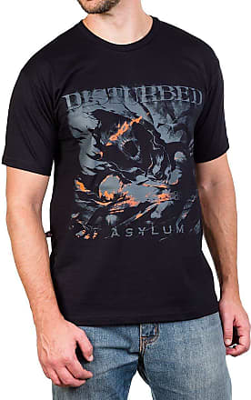 Bandalheira Camiseta Disturbed Asylum Preta