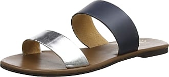 Joules Womens Fenthorpe Open Toe Sandals, Brown (Metallic Silver Silver), 8 (42 EU)