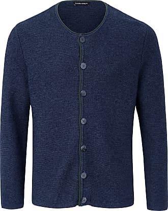 Louis Sayn Cardigan in purl knit Louis Sayn blue